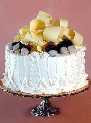 White Signature Cake